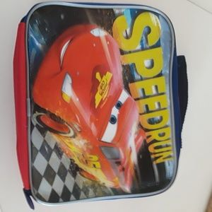 Disney Cars insulated lunch box.